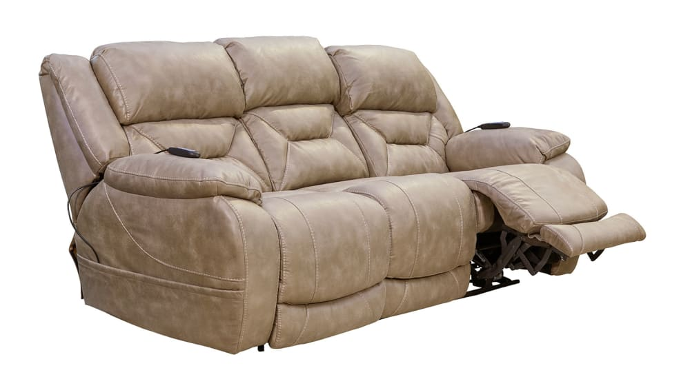 Enterprise Mushroom Power Reclining Sofa W/Power Headrest
