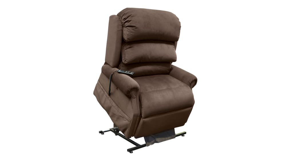 Stellar Comfort Brown Massage and Heat Lift Chair