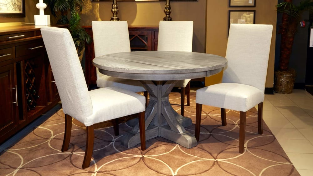 """Settlers 48"""" Round Dining Table with Victoria Side Chairs, , small"""