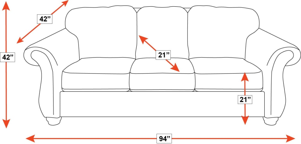 Silverado Leather Sofa, , hi-res