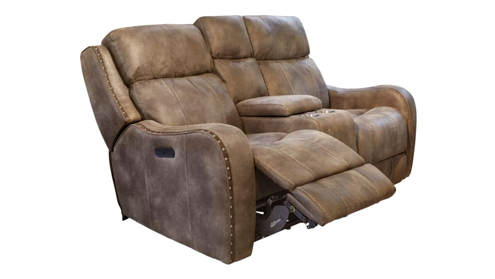 Alamo Power Reclining Loveseat W/Console, , hi-res