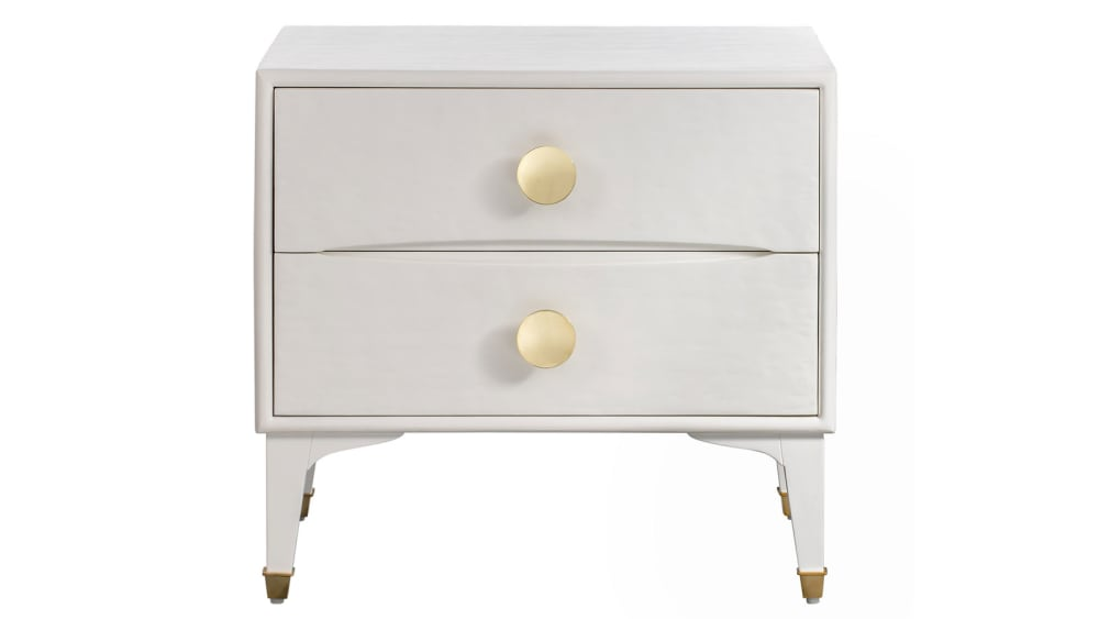 Divine White Nightstand