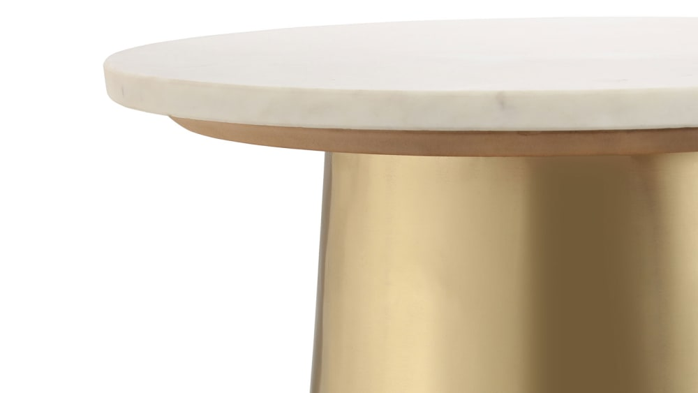 Bleeker Marble Side Table