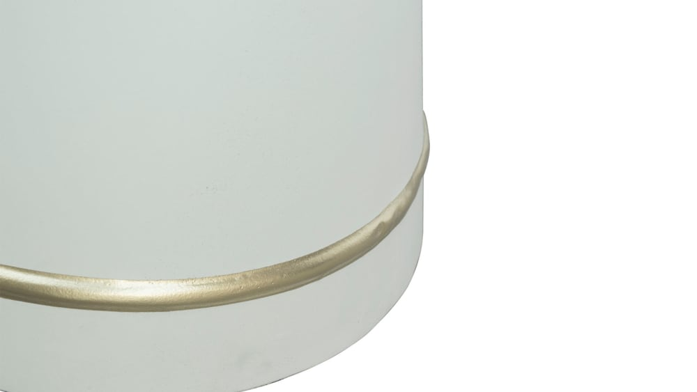 Dumbo White Concrete Coffee Table, , hi-res