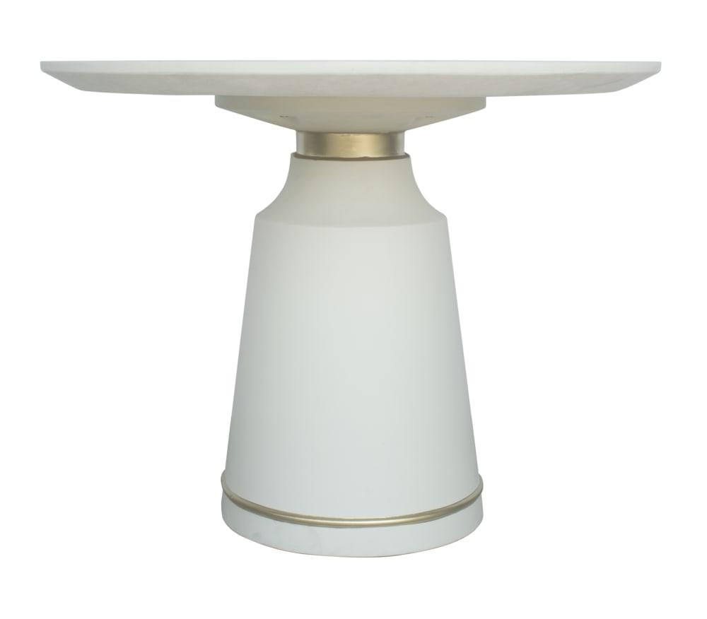Dumbo White Concrete Dining Table, , hi-res