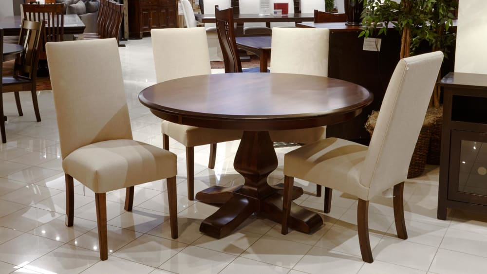Weston Round Table with Victoria Chairs, , large