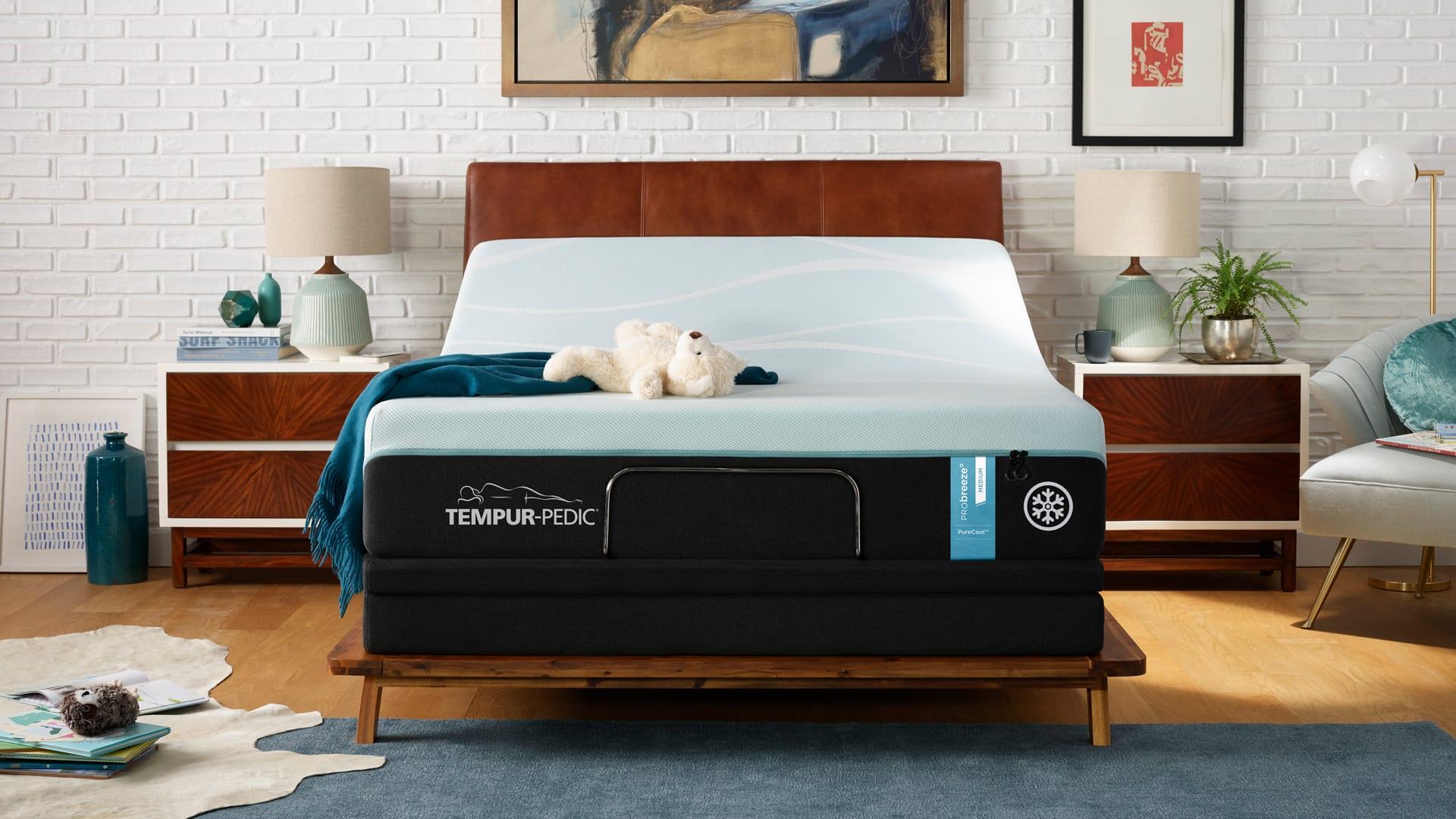 Twin XL Size Tempur-Pedic Pro Breeze Medium Mattress