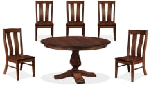 """Weston 54"""" Dining Table and Albany Five-Chair Collection, , small"""