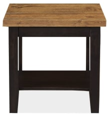 San Antonio Cherry and Maple End Table
