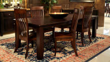 """Refugio 98"""" Table with Baytown Chair"""