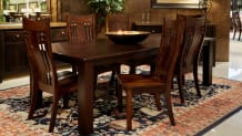 "Refugio 98"" Table with Chandler Chair"