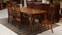 Verdi Expanding Dining Table w/ Baytown Chairs