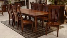 Verdi Expanding Dining Table with Chandler Side Chairs, , small