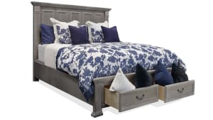 Sundown King Storage Bed, , hi-res