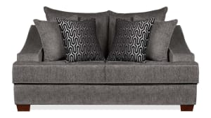 Kyle Charcoal Loveseat
