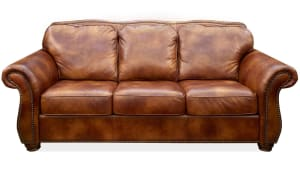 Navasota Leather Sofa