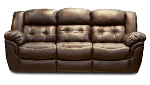 Achieve Leather Manual Reclining Sofa