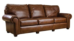 Stickley Santa Fe Serrano Leather Sofa