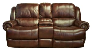 Holman Power Reclining Loveseat with Console