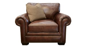 Liberty Leather Chocolate Chair