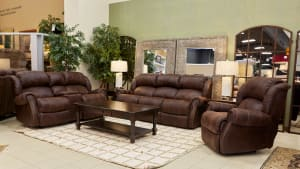 Wyoming Espresso Living Room Collection