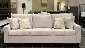 Bravado Silver Sofa