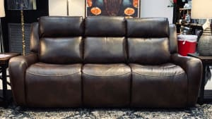 Banner Brown Power Reclining Sofa
