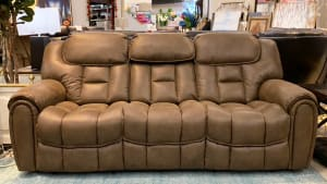 Cayman Brindle Power Sofa