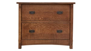 Stickley Signature 2 Drawer File Cabinet