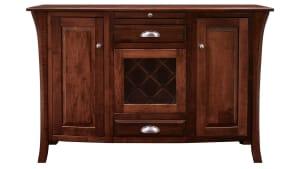 "East Bernard 60"" Wine Cabinet"