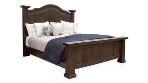 Rustic Hill Onyx Queen Bed