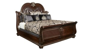 Import Stanley Cherry Queen Bed, , hi-res