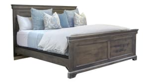 Louie Gray King Bed