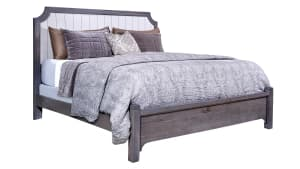 Folkstone Gray King Bed