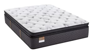 Queen Size Sealy Happiness Plush Pillow Top Mattress, , hi-res