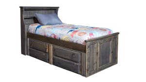 Turkey Creek Rustic Gray Full Bed, , hi-res
