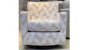 Carolyn Coconut Swivel Chair
