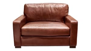 IMPORT RANDALL CHESTNUT CHAIR, , hi-res