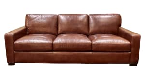IMPORT RANDALL CHESTNUT SOFA, , hi-res