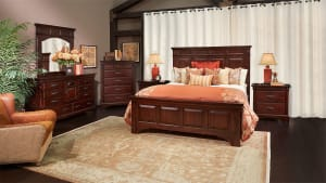 Hidalgo Mahogany Bedroom Collection