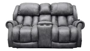 Ocean Slate #14 Power Headrest Loveseat