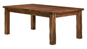 Rough Sawn Almond Dining Table