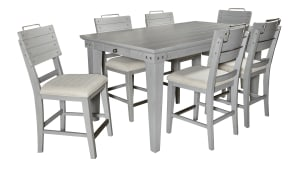 Import Bellville Counter Table with 6 Chairs, , hi-res