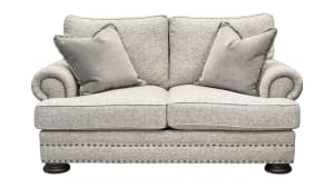 Foster Grey Loveseat
