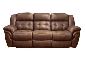 Marcelina Espresso Manual Reclining Sofa