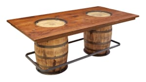 JB Double Barrel Table