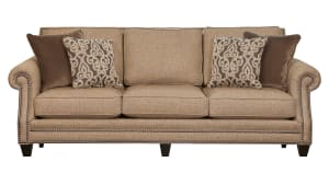 Zenith Brown Sofa