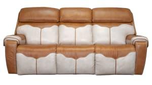 Cowboy Ranch Palomino Power Reclining Sofa