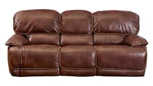 Pecan Power Reclining Sofa