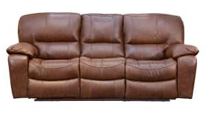 Trinity Leather Power Motion Sofa